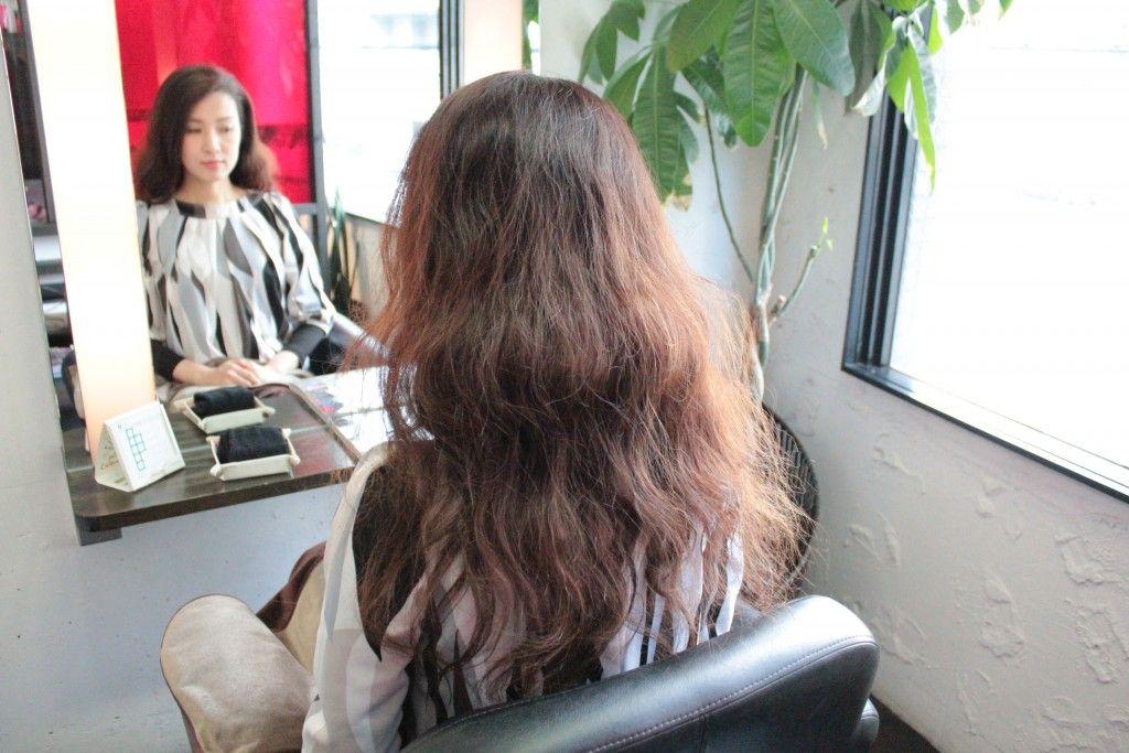 くせ毛で多い髪の毛